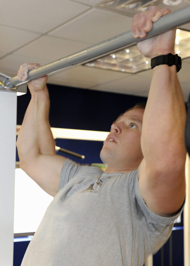 Pull-ups exercises at home