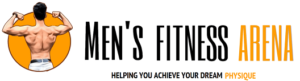 Men's fitness arena logo